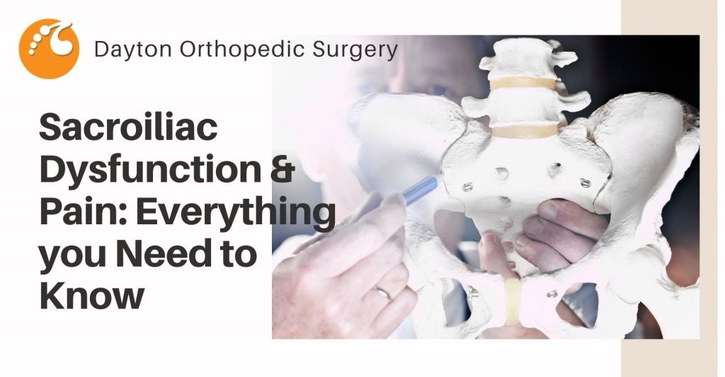 Sacroiliac Joint dysfunction and pain